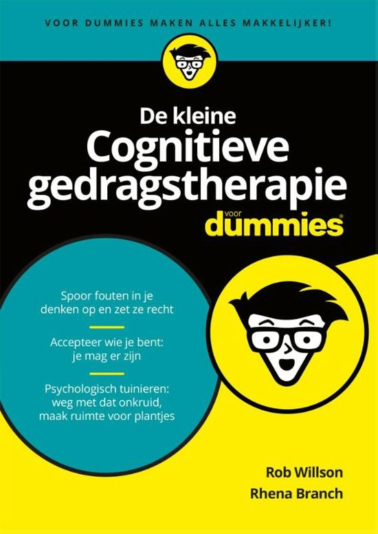 De kleine Cognitieve Gedragstherapie voor Dummies Boek omslag